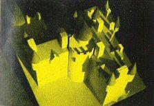 La maquette du Chateau de Cécilia