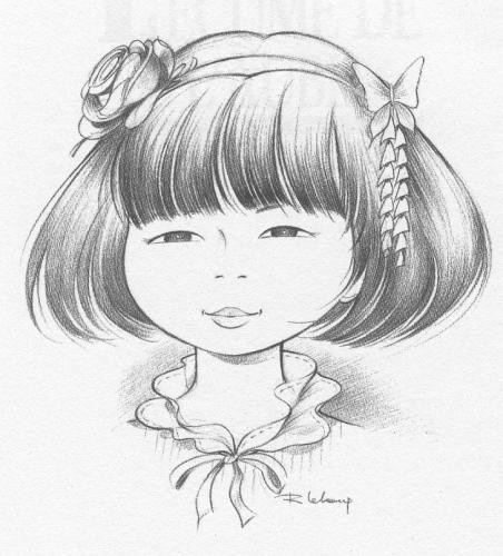 Yoko à 5 ans