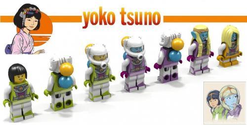Les Vinéens en Lego