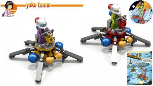 Le Survoleur en Lego - La lumière d'Ixo