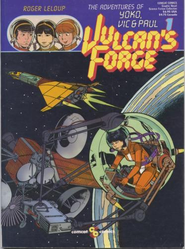 La Forge de Vulcain (V.anglaise - Première Page)