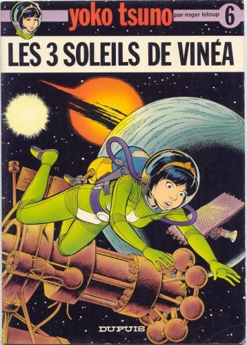 Les 3 Soleils de Vinéa (Première Page)