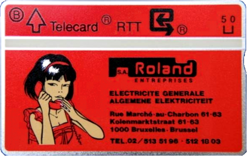 Carte téléphonique RTT Rouge
