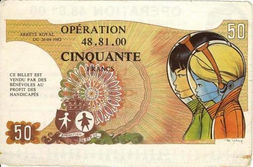 Billet - Opération 48.81.00 de 1982