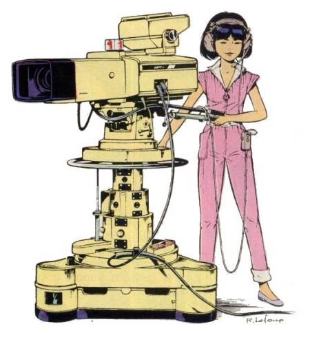 Yoko camérawoman - Spirou 2760
