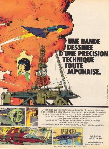 Publicité de La Forge de Vulcain