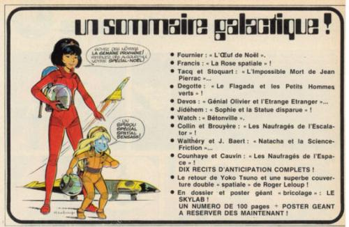 Sommaire du Spirou n°1859