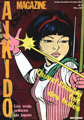 Couverture Magazine Aikido de 1984