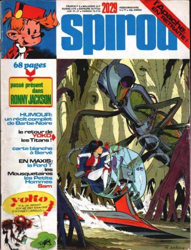 Spirou n°2029