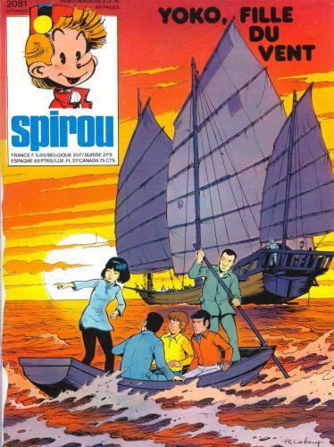 Spirou n°2081